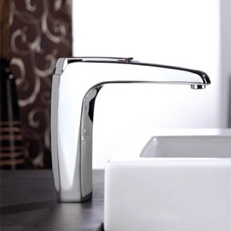 Bathroom Faucet Chrome Single Handle Vessel Sink Faucet Remer A11LUS