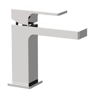 Bathroom Faucet Modern Single Handle Bathroom Faucet in Chrome Remer AU11USNL-CR