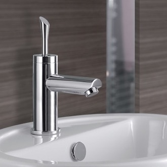 Bathroom Faucet Single-Lever Sink Faucet Without Pop-Up Waste Remer J11