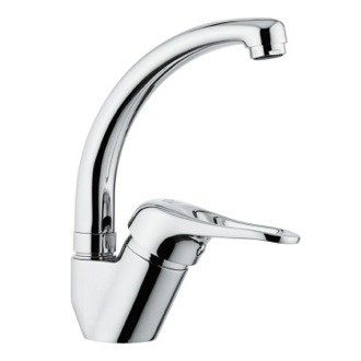 Kitchen Sink Faucet Single-Lever Luxury Faucet With Movable Spout Remer K42C
