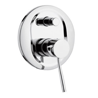 Diverter Built-In Single-Lever Bath and Shower Mixer With Remer N09