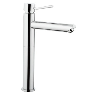 Bathroom Faucet Chrome Round Vessel Sink Faucet Remer N11LXL