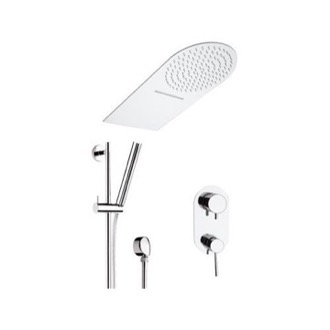 Shower Faucet Chrome Wall Mounted Shower Faucet Remer N937S01UFMCA