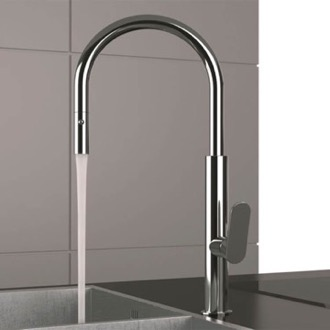 Kitchen Faucet Chrome One Hole Kitchen Faucet Remer NK73