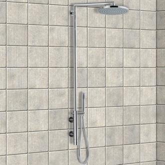 Gedy Thermostatic Shower Column.Luxury Shower Columns Nameek S