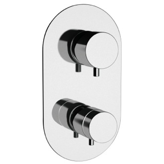 Diverter Built-in Thermostatic 3-Way Shower Diverter Remer NT93US