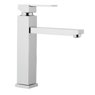 Kitchen Sink Faucet Chrome Single Hand Bathroom Sink Faucet Remer Q40US