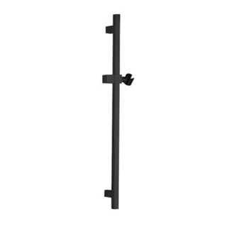 Shower Slidebar Squared 28 Inch Sliding Rail Available in Matte Black Remer 317S-NO
