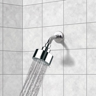 Shower Head Full Spray 3 Function Shower Head with Arm Remer 342-358MO