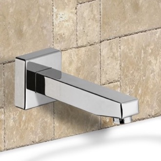 Tub Spout Chrome Wall Mounted Bathtub Spout Remer 91S
