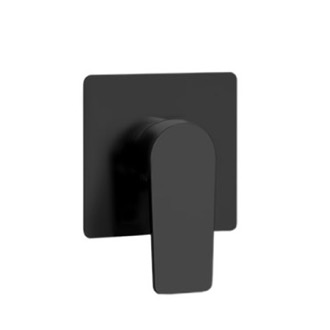 Mixer Matte Black Wall Mounted Shower Mixer Remer D30NO