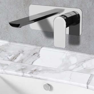 Bathroom Faucet Chrome Wall Mounted Bathroom Faucet Remer I15