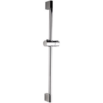Shower Slidebar Round 27 Inch Sliding Rail Available in Chrome Finish Remer 315L
