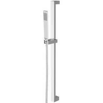 Sliding Rail Hand Shower Set 27 Inch Sliding Rail Hand Shower Set With Sleek Hand Shower Remer 317Q-317RR