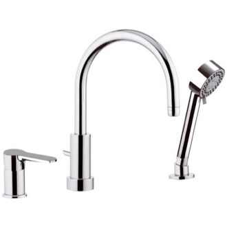 Tub Filler Roman Bathtub Faucet with Hand Shower Remer W07