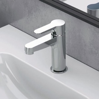 Bathroom Faucet Chrome Single Hole Bathroom Faucet Remer W11USNL-CR