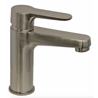 Bathroom Faucet Satin Nickel One Hole Bathroom Faucet Remer W11NP