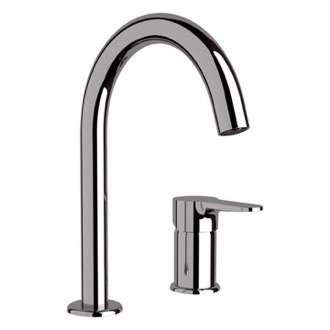 Bathroom Faucet Chrome Two Hole Bathroom Sink Faucet Remer W57