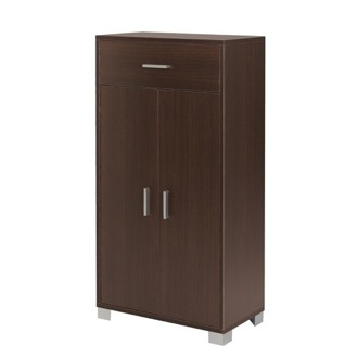 Cabinet Contemporary Cabinet with 1 Drawer and 2 Doors Sarmog 741