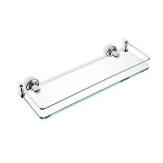Bathroom Shelf Clear Glass Bathroom Shelf StilHaus 766