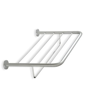 Train Rack Wall Mounted Satin Nickel Towel Rack StilHaus 786-36