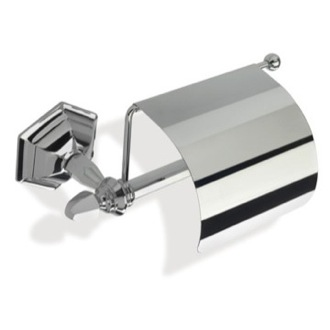 Toilet Paper Holder Decorative Wall Mounted Toilet Roll Holder with Cover StilHaus MA11C