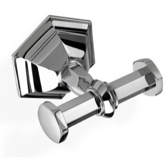 Bathroom Hook Luxury Wall Mounted Double Bathroom Hook in Multiple Finishes StilHaus MA13