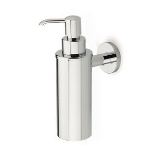 Soap Dispenser Wall Mounted Round Brass Soap Dispenser StilHaus ME30