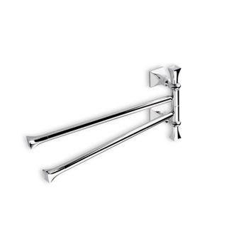 17 Inch Clic Style Swivel Double Towel Bar