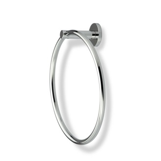 Towel Ring Round Chrome or Satin Nickel Towel Ring StilHaus VE07