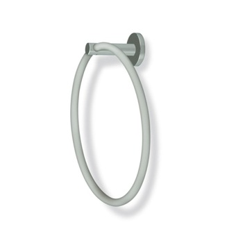 Towel Ring Round Satin Nickel Towel Ring StilHaus VE07-36