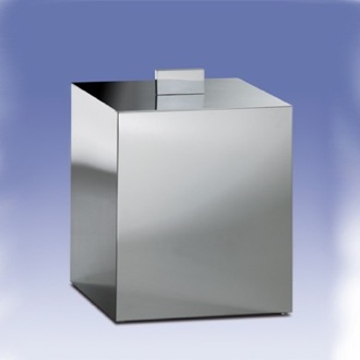 Waste Basket Square Bathroom Waste Bin Windisch 89139-SNI