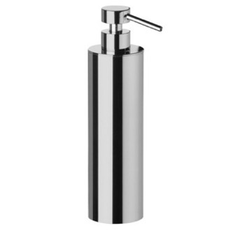 Soap Dispenser Tall Rounded Brass Soap Dispenser Windisch 90415