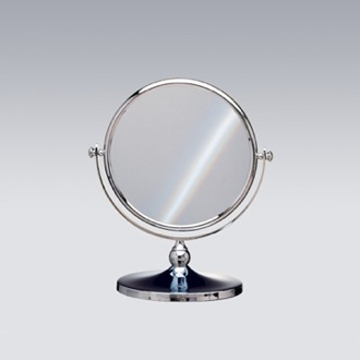 Makeup Mirror Double Face 3x Chrome or Gold Magnifying Mirror Windisch 99100