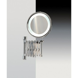 Makeup Mirror Wall Mounted Br Led With 3x 5x Magnification Windisch 99288