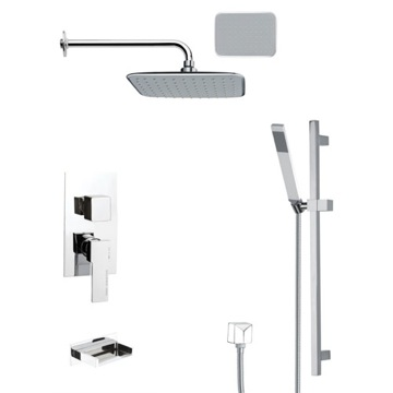 Tub and Shower Faucet, Remer TSR9135