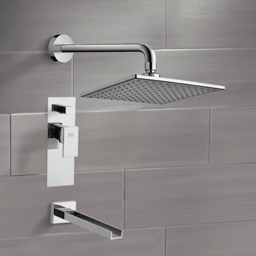 Tub and Shower Faucet, Remer TSF2224