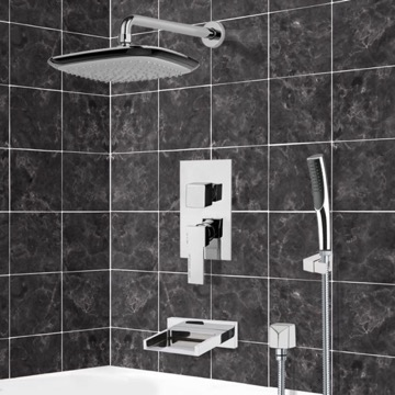 Tub and Shower Faucet, Remer TSH4115