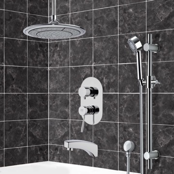 Tub and Shower Faucet, Remer TSR9002