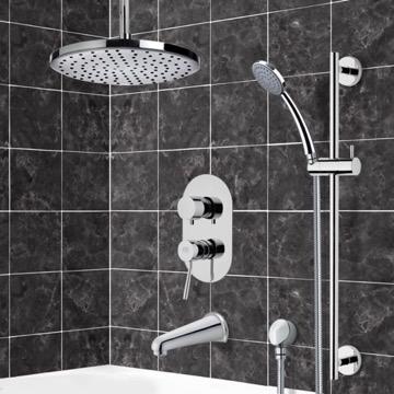 Tub and Shower Faucet, Remer TSR9014