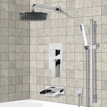Tub and Shower Faucet, Remer TSR9037