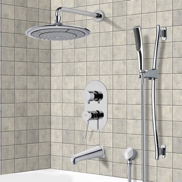Tub and Shower Faucet, Remer TSR9040