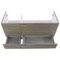 47 Inch Larch Canapa Bathroom Vanity Set, Double Sink, Lighted Mirrors Included