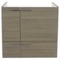 23 Inch Wall Mount Larch Canapa Bathroom Vanity Cabinet