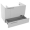 31 Inch Wall Mount Glossy White Bathroom Vanity Cabinet