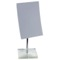 Square Magnifying Mirror with Silver Base