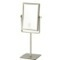 Satin Nickel Double Face Rectangular 3x Makeup Mirror