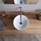 Small Round Ceramic Vessel Sink