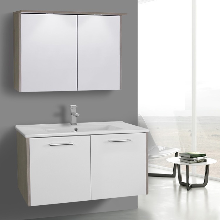 ACF NI Bathroom Vanity Nico Nameeks - 33 inch bathroom vanity