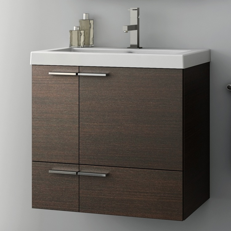 Bathroom Vanity, ACF ANS32, 23 Inch Vanity Cabinet With Fitted Sink